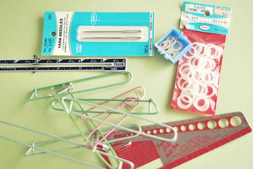 Vintage Knitting Tools