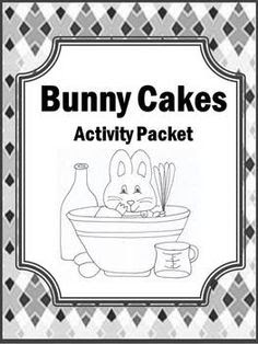 Preschool Book: Bunny Cakes on Pinterest | Guided Reading ...