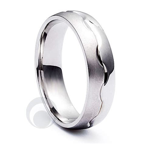 Combination Platinum Wedding Ring Wedding Dress from The