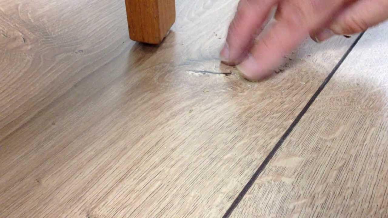 Stilvoll pvc vloer krassen verwijderen