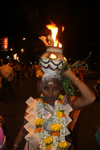 Burning Pot On The Head by firoze shakir photographerno1
