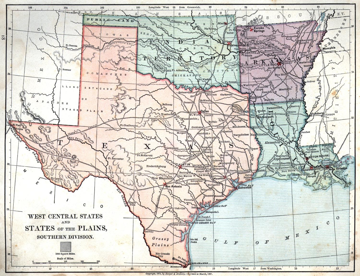 Map Of Texas And Louisiana Border.Map Of Texas And Louisiana Together Map Of Us Western States