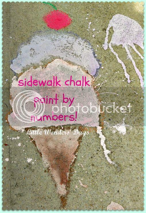 sidewalk chalk activities