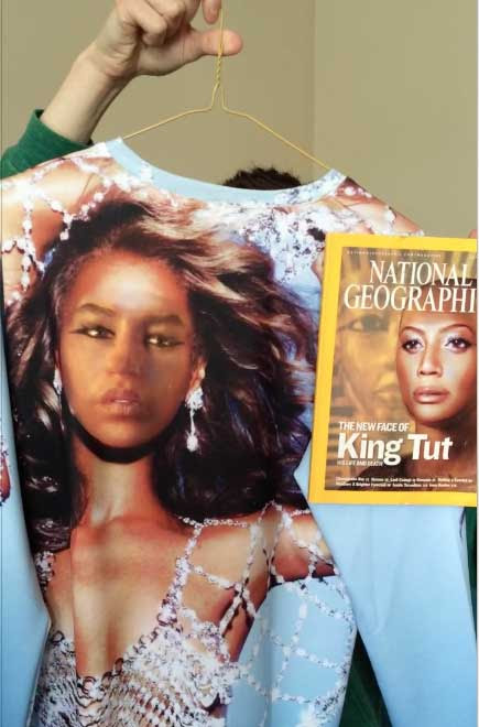 Beyonce | King Tut National Geographic cover | Tacky Harper's Cryptic Clues