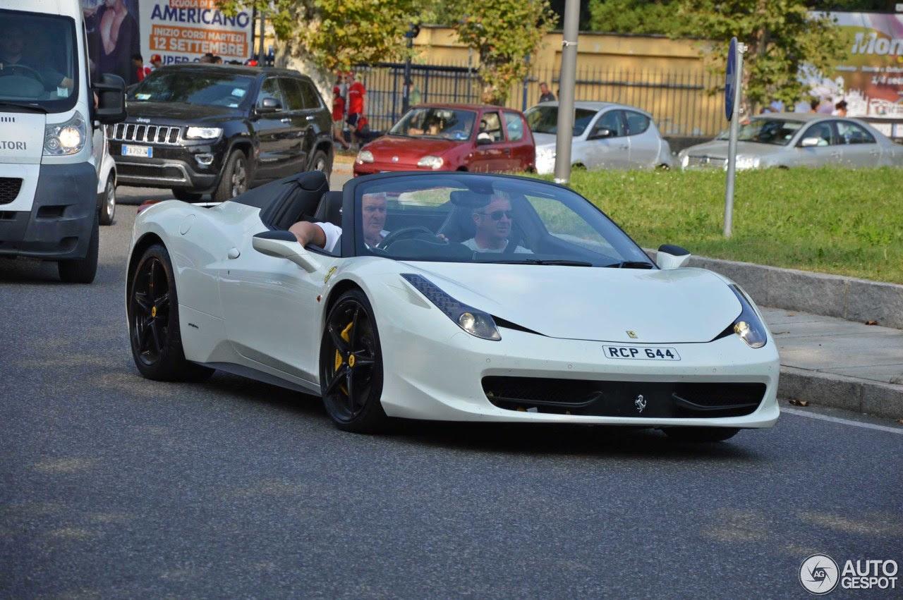 Ferrari 458 Spider  10 October 2016  Autogespot