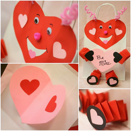 Bunches and Bits Valentine Card Holders