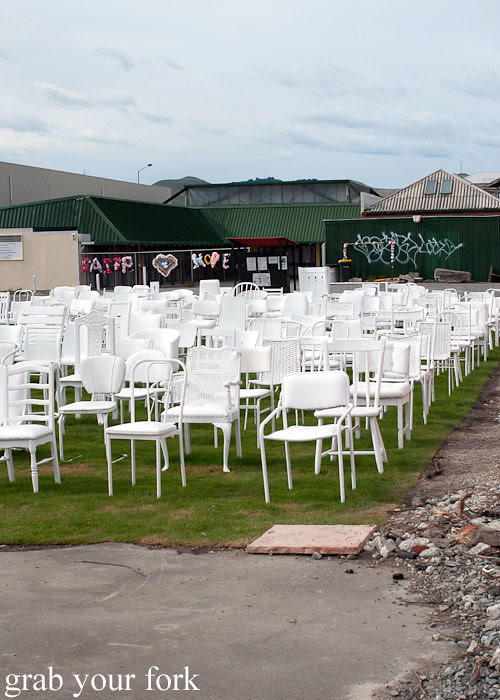 185 empty chairs christchurch