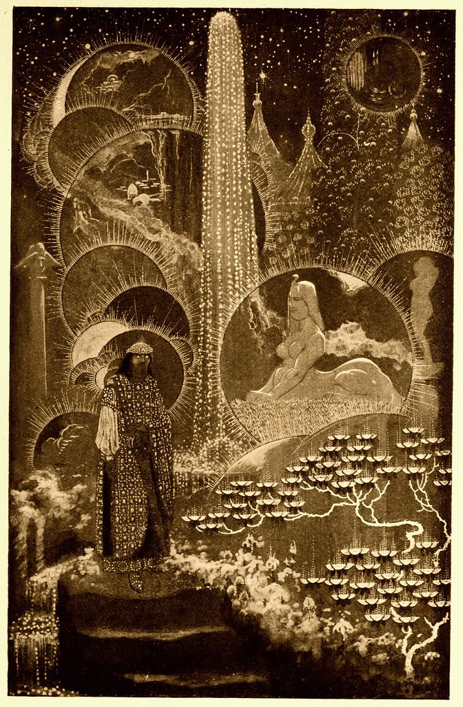 Sidney Sime - The Coronation Of Mr. Thomas Shap (1912)