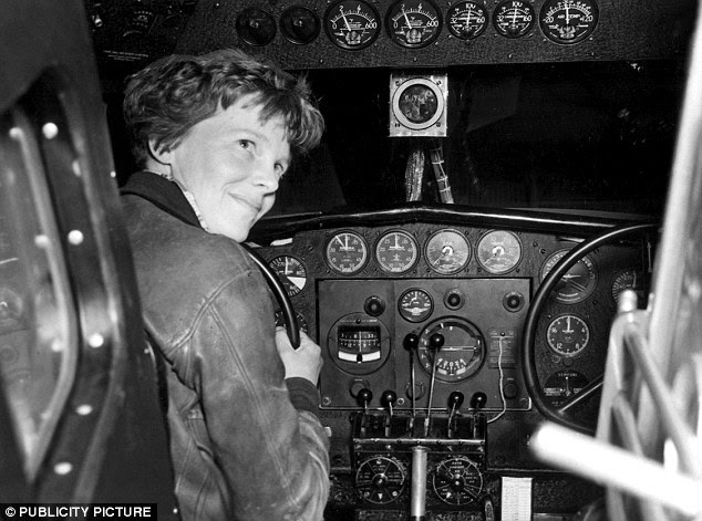 Expendable: Some people also believe the Americans knew Earhart (pictured 1937) had been taken prisoner