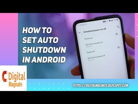 How to set auto on off features in android mobile !!techgyan   digitalmagnate   android