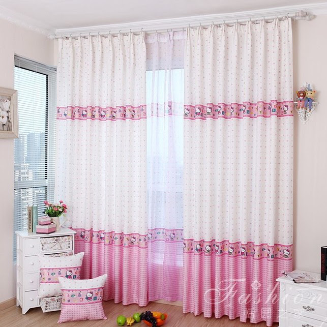 Hello kitty gardinen home design inside - Hello kitty schlafzimmer ...