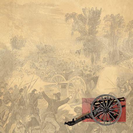 SugarTree   12 x 12 Paper   Civil War Cannon