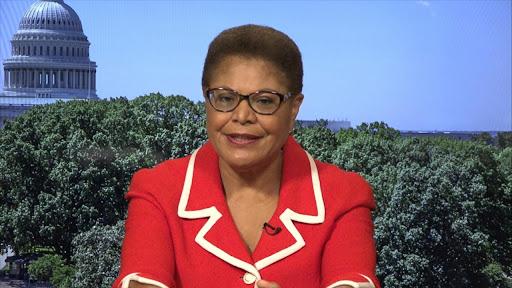 Avatar of Trump is a 'lawless president,' wants to be 'authoritarian leader': Rep. Karen Bass