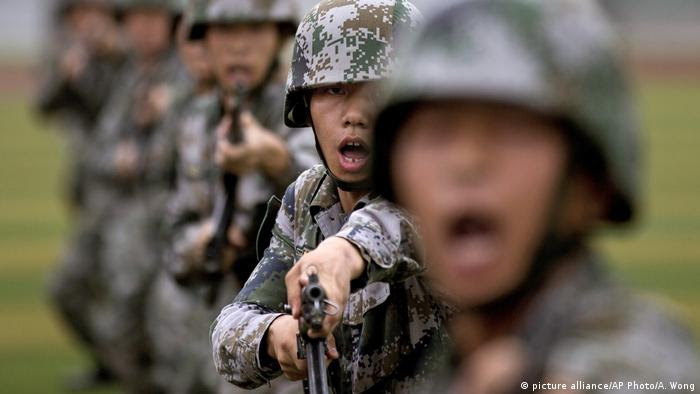 China Militär (picture alliance/AP Photo/A. Wong)