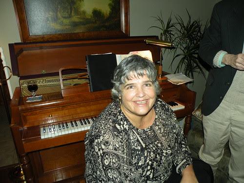Claire Detels after performing on October 30, 2009. DSCN9323