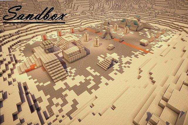 Sandbox Halo Map Minecraft Project