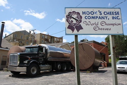 Hook's Cheese Company, Mineral Point
