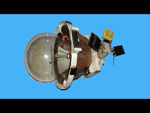 Free Energy 220v Bulb using New device TV Yock