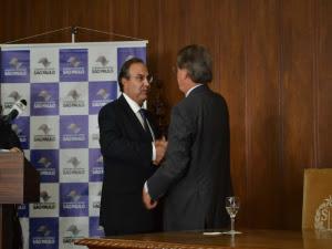 Ferreira Pinto deu boas-vindas ao novo secretário