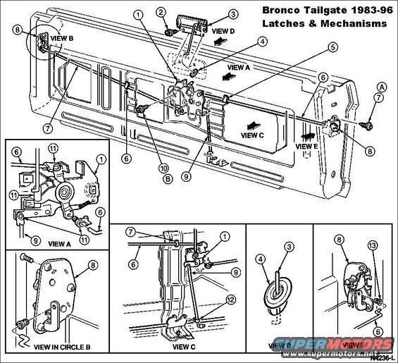 1995 Chevy Silverado Tailgate Schematics Auto Wiring Diagram Today