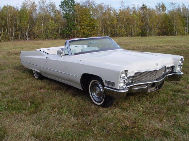 1968 Cadillac Coupe Deville Convertible Gorgeous Original ...