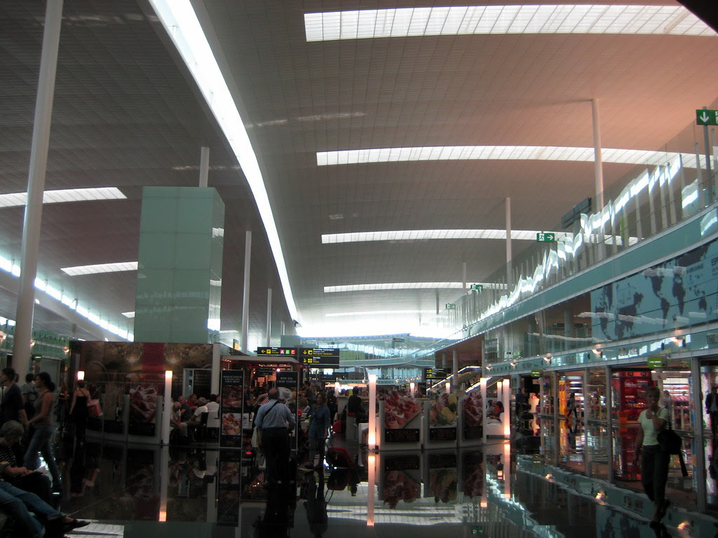 Terminal 1 aeropuerto de barcelona