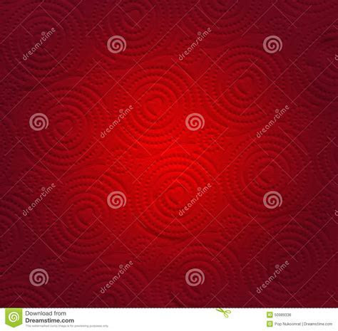 Abstract Red Paper With Heart Shape Background Stock Photo