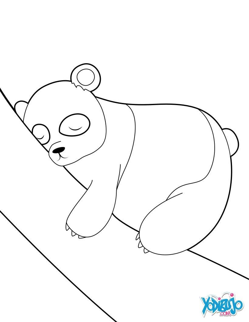Oso Panda Dibujos Para Colorear Manualidades Para Niños Juegos