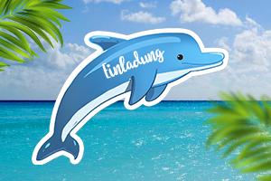 delphin bilder kostenlos - vorlagen zum ausmalen gratis ausdrucken