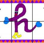 h 150x148 Crea entretenidos puzzles con las letras del abecedario