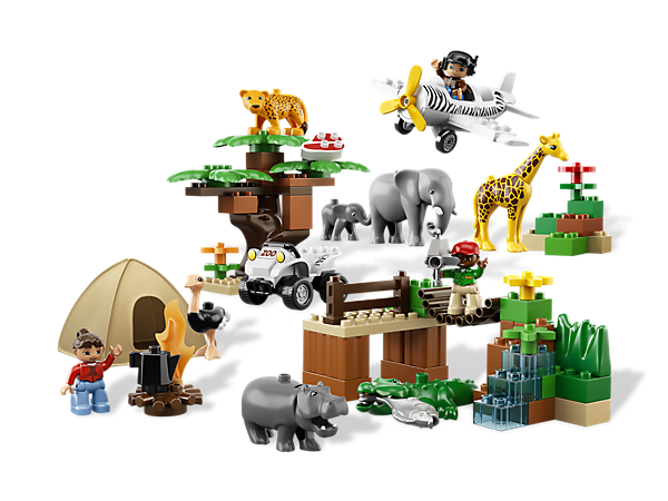 (via Safari-Abenteuer  | LEGO Shop)