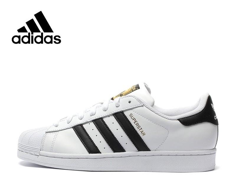 02f264d5150 viciadosemisatkm  Comprar Nova Chegada Original Oficial Trevo Adidas  SUPERSTAR Skate Sapatos De Desporto Ao Ar Livre Dos Homens E Das Mulheres  Sneakers ...