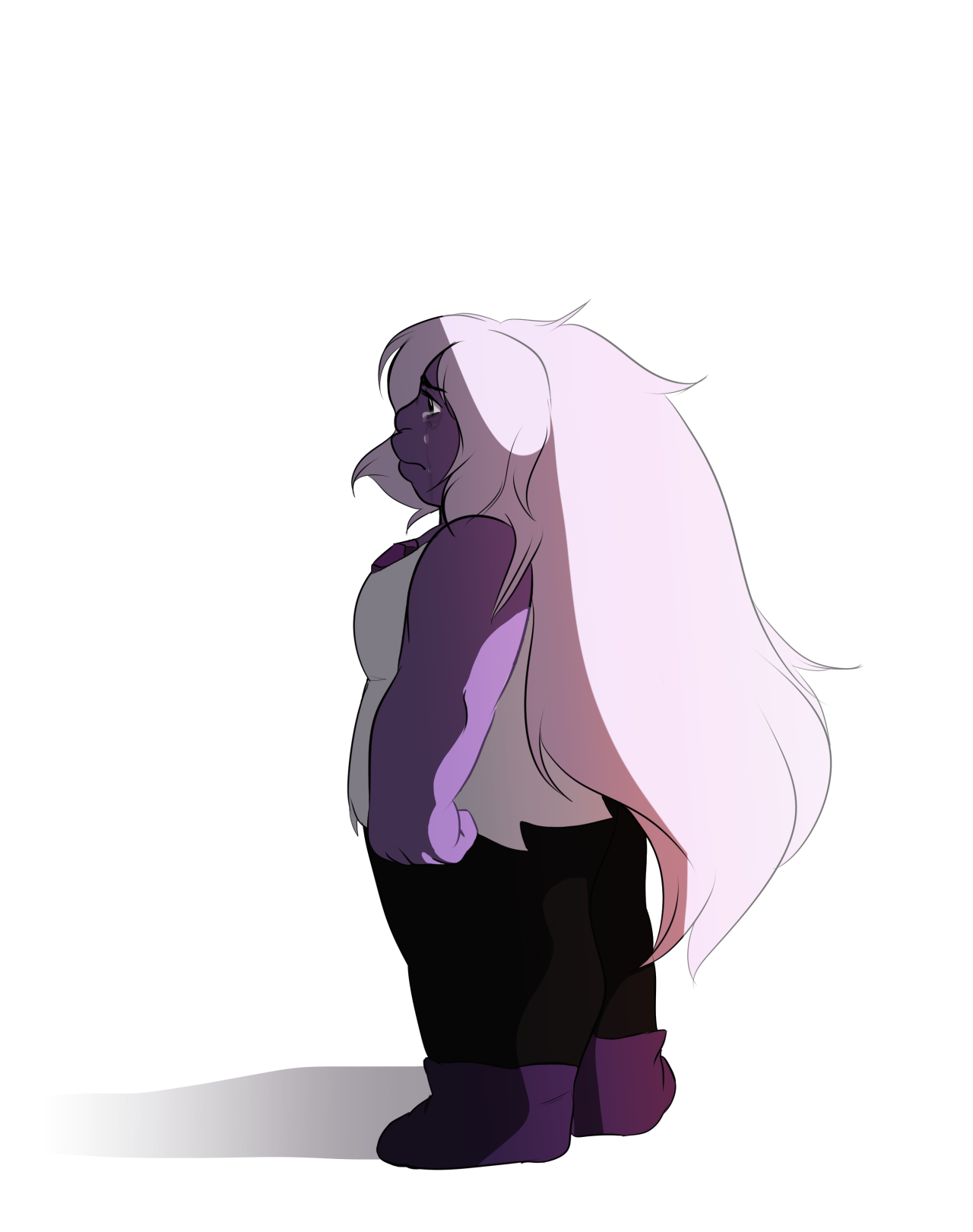 i've been waiting for the Amethyst arc since season one… she's my favorite gem but i never wanted it to be like this,, please protect her