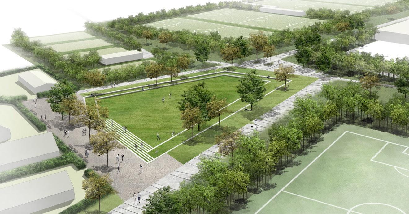 The Urban Scale Sustainability Compass Park Groot Schijn