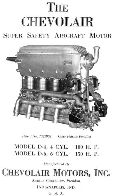 The Story Of Chevrolet Airplane Engines | GM Authority