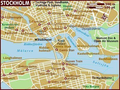 Resultado de imagen de estocolmo mapa