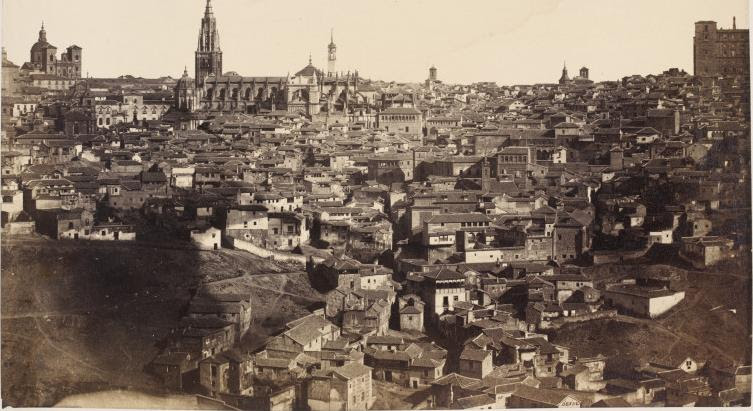 Toledo en 1857. Fotografía de Charles Clifford. © Victoria and Albert Museum, London