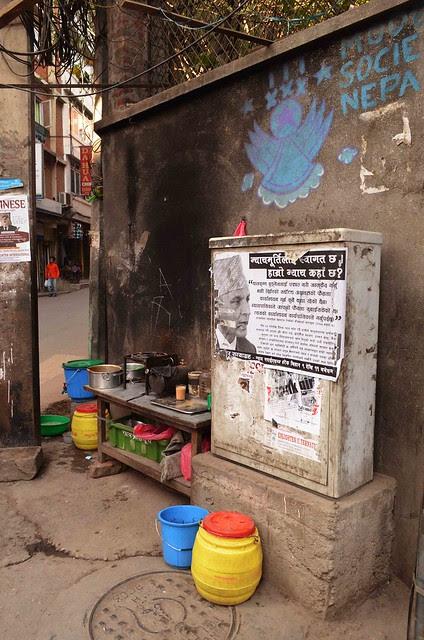Street Vendor, Nepali Tea