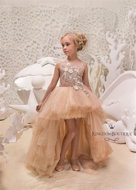 15 Flower Girl Dresses from Kingdom Boutique   Deer Pearl