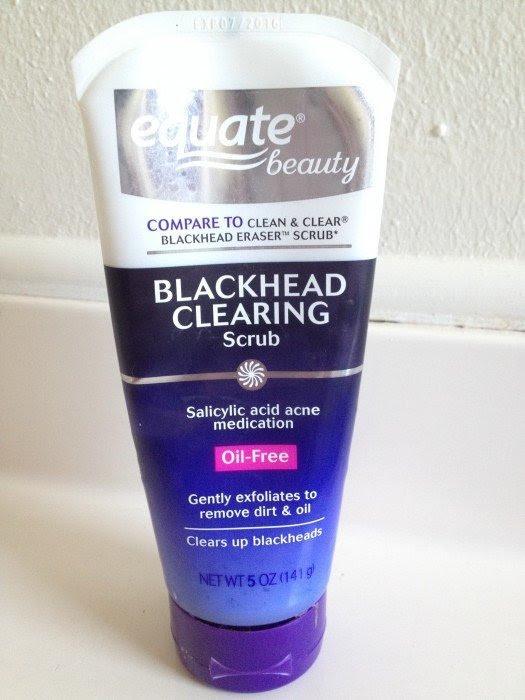 Equate Blackhead Clearing Scrub Review