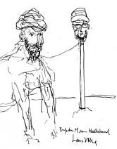 The Prophet Mohammed as a Mullah-Dog