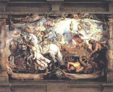 Trionfo della Chiesa su Fury, discordia e odio 1628