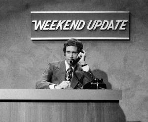 In this Oct. 11, 1975 photo released by NBC, Chevy…