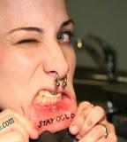 Inner Lip Tattoos Tattoomagz