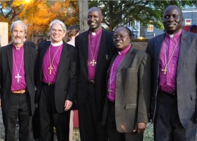 Bishops in Charleston, South Carolina