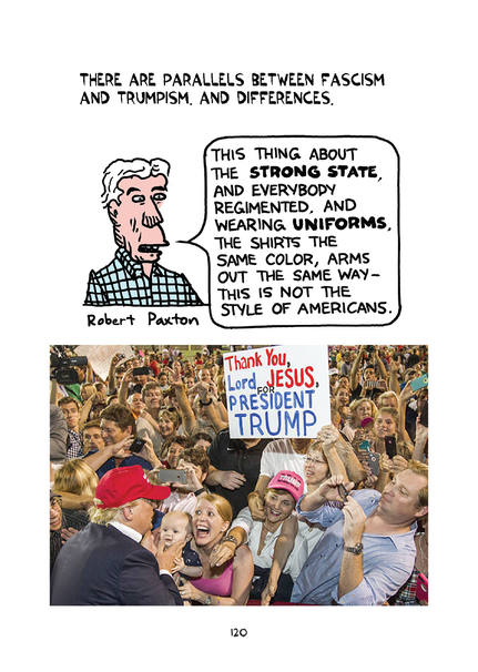 Image result for Cartoon Normalization of Trumpism