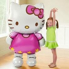 Large Size Hello Kitty Cat Foil Balloon Cartoon Wedding Birthday Party
