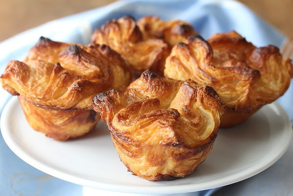 Kouign Amann, a traditional and delicious Breton laminated butter cake