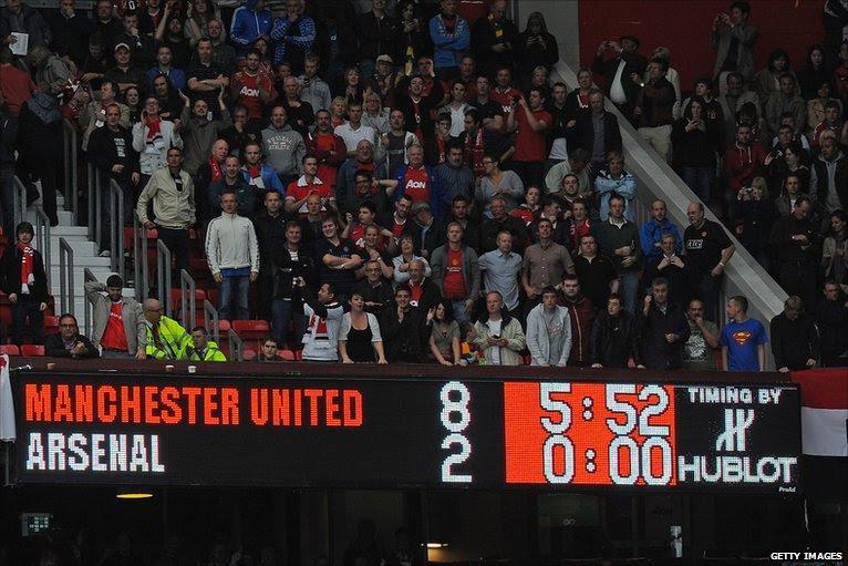 Manchester United 8-2 Arsenal