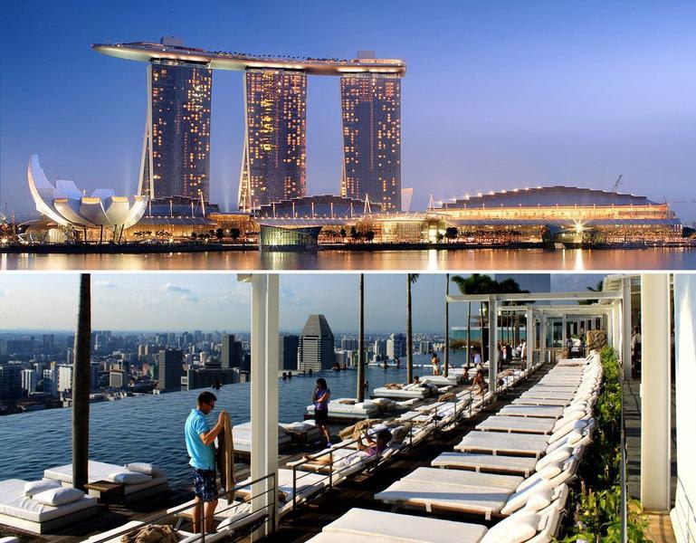 Marina Sands Bay, Singapur